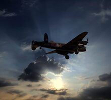 The Lancaster  by larry flewers