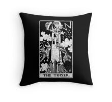 Tarot Card - Major Arcana - fortune telling - occult Throw Pillow