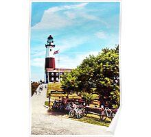Montauk Lighthouse Poster