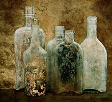 5 Dirty Bottles by Barbara Ingersoll