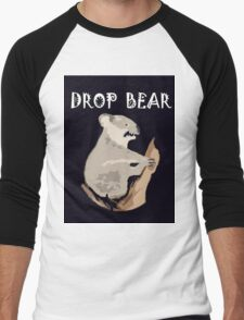 DROP BEAR Men's Baseball ¾ T-Shirt