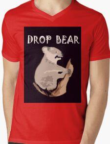 DROP BEAR Mens V-Neck T-Shirt
