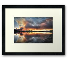 Fire and Water 2 Framed Print