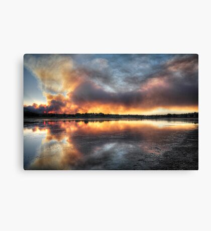 Fire and Water 2 Canvas Print