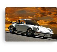 198X Porsche 911 SC Canvas Print