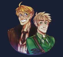USUK - Hetalia by RibbonsAndStars