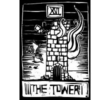 The Tower - Tarot Cards - Major Arcana Photographic Print