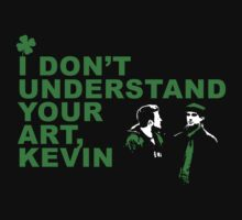 I Don't Understand Your Art, Kevin by ScarvesMckenzie
