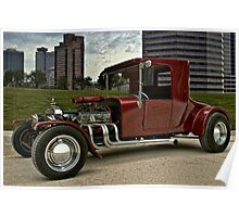 1927 Ford High Top T Hot Rod Poster