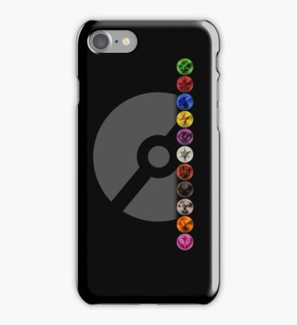 Pokemon TCG Type Symbols - iPhone Case w/ PokeBall iPhone Case/Skin