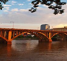 Broadway Bridge at Little Rock by Lisa G. Putman