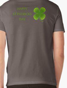 HAPPY ST PATRICKS DAY Mens V-Neck T-Shirt