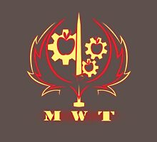 Ministry of Wartime Technology RELOADED (Wireframe Logo) Unisex T-Shirt
