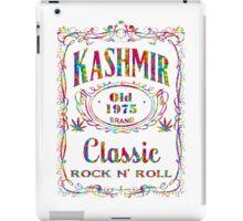 BOTTLE LABEL - KASHMIR - psychedelic iPad Case/Skin