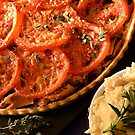 Tuna, Tomato & Tapenade Tart by David Mellor
