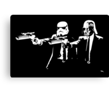 "Darth Vader - Say ""What"" Again! Version 3 Canvas Print"