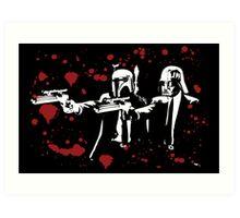 "Darth Vader - Say ""What"" Again! Version 1 (Blood Splatter) Art Print"