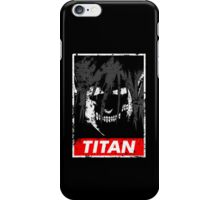 Titan iPhone Case/Skin