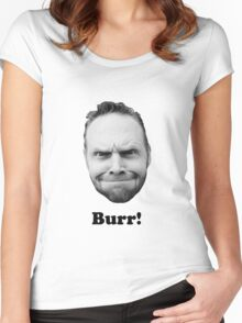 BURR! Women's Fitted Scoop T-Shirt