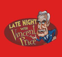 Late Night with Vincent Price  One Piece - Short Sleeve