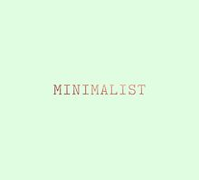 Mint Green and Copper Minimalist Typewriter Font by itsjensworld