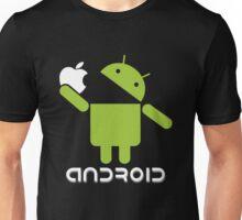 Android Eats Apple Unisex T-Shirt