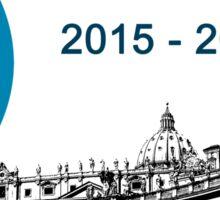 27th Jubilee, 2015 - 2016 Sticker