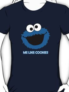 Blue Cookie Monster T-Shirt