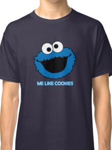Blue Cookie Monster Classic T-Shirt