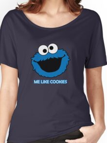 Blue Cookie Monster Women's Relaxed Fit T-Shirt