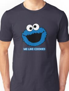 Blue Cookie Monster Unisex T-Shirt