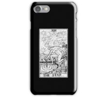The Star Tarot Card - Major Arcana - fortune telling - occult iPhone Case/Skin