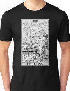 The Star Tarot Card - Major Arcana - fortune telling - occult Unisex T-Shirt