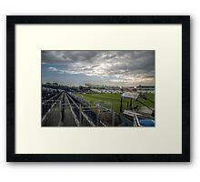 New Stand View Framed Print