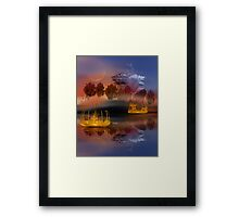 ©DA The Island III Framed Print