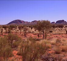 Kata Tjuta ... Outback Australia by myraj