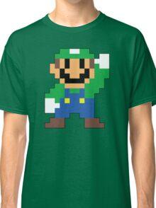 Super Mario Maker - Luigi Costume Sprite Classic T-Shirt
