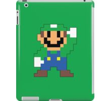 Super Mario Maker - Luigi Costume Sprite iPad Case/Skin