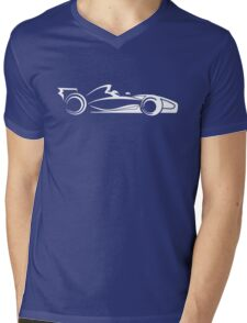 F1 Vector Mens V-Neck T-Shirt