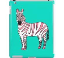 Zebra - Pink iPad Case/Skin