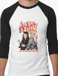 Absolutely Fabulous Patsy Stone and Edina Monsoon Men's Baseball ¾ T-Shirt