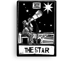 The Star - Tarot Cards - Major Arcana Canvas Print