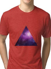 Galaxy 3D Triangle Tri-blend T-Shirt