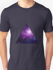Galaxy 3D Triangle Unisex T-Shirt