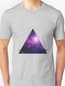 Galaxy 3D Triangle Unisex T-Shirt