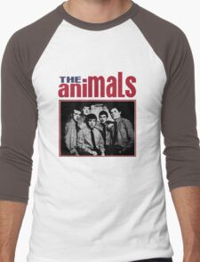 The Animals Band Men's Baseball ¾ T-Shirt