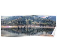 Lake Hume Reflections -The HDR Experience Poster