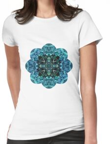 Blue Dreams T-shirt Womens Fitted T-Shirt