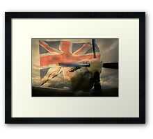 Grace Spitfire ML407 Framed Print