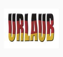 Urlaub - German flag by stuwdamdorp
